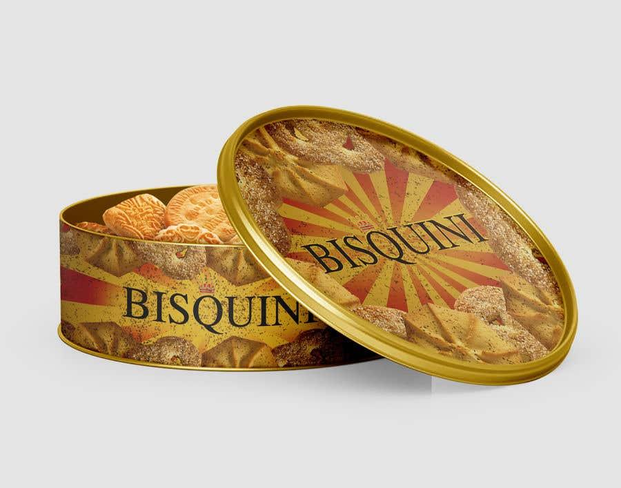 Bài tham dự cuộc thi #22 cho Retro design of Danish Butter cookie in round  tin