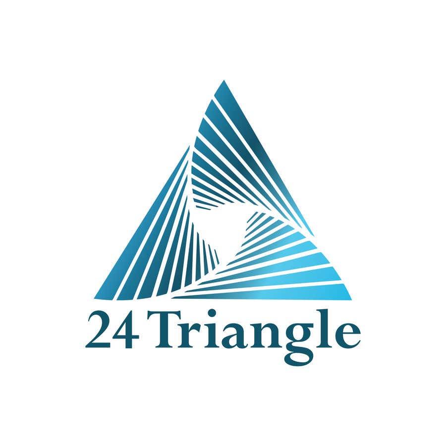 """Inscrição nº 1063 do Concurso para Create a logo for """"24 Triangle"""""""