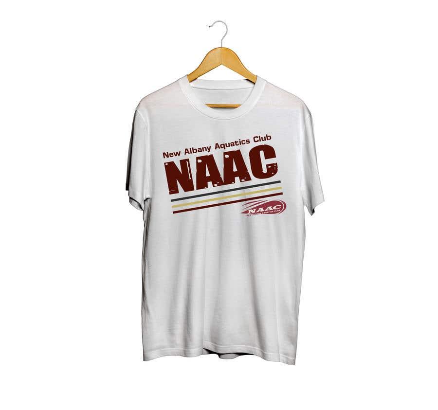 Proposition n°17 du concours TEE SHIRT DESIGN NAAC SWIM TEAM