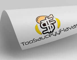 logoque tarafından Logo Design  Title: 2SauceyyFlavours / TooSauceyyFlavours With graphic of Mixed Caribbean Food into logo  - fried chicken & mac n cheese & prawns & waffles etc  - 21/10/2019 13:13 EDT için no 11
