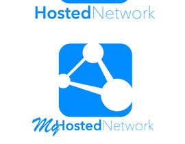 #6 para Logo Design for Hosted Network por nathansimpson