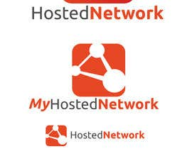 #7 para Logo Design for Hosted Network por nathansimpson