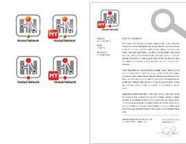 #5 para Logo Design for Hosted Network por evapavlova1979