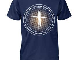 Nro 30 kilpailuun Gospel Cheer Tee Shirt design käyttäjältä Gopal7777
