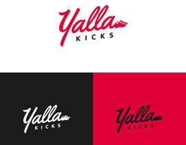 "#8 для This logo is for ""YallaKicks"" — The Middle East's First Sneaker Subscription Box. I need a logo to be created in a couple of popular sizes to be used across all media. от miladinka1"