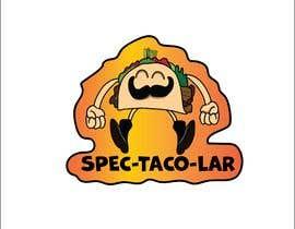 #32 cho Design a unique transparent taco sticker for a label bởi sujon100sokhi