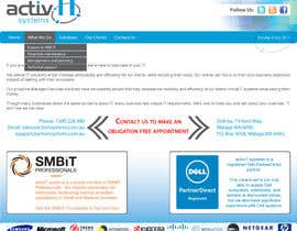 #52 dla Website Design for activIT systems przez mahobi