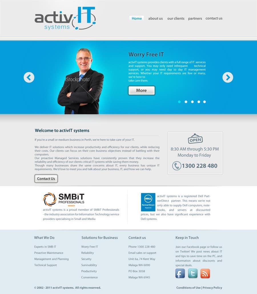 Inscrição nº                                         3                                      do Concurso para                                         Website Design for activIT systems