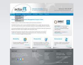 #27 dla Website Design for activIT systems przez sunanda1956