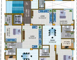 #76 for Garage Condos with Clubhouse and Storage Facility Concept af Zamanbab