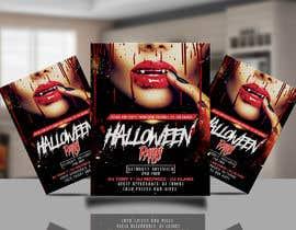 #47 for Design me a flyer: Halloween Party by khaledalmanse