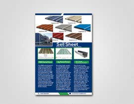 "#53 for Sell Sheet - PBR Metal Panel, Ag Metal Panel & 6"" K-Style Seamless Gutters af orpitani"