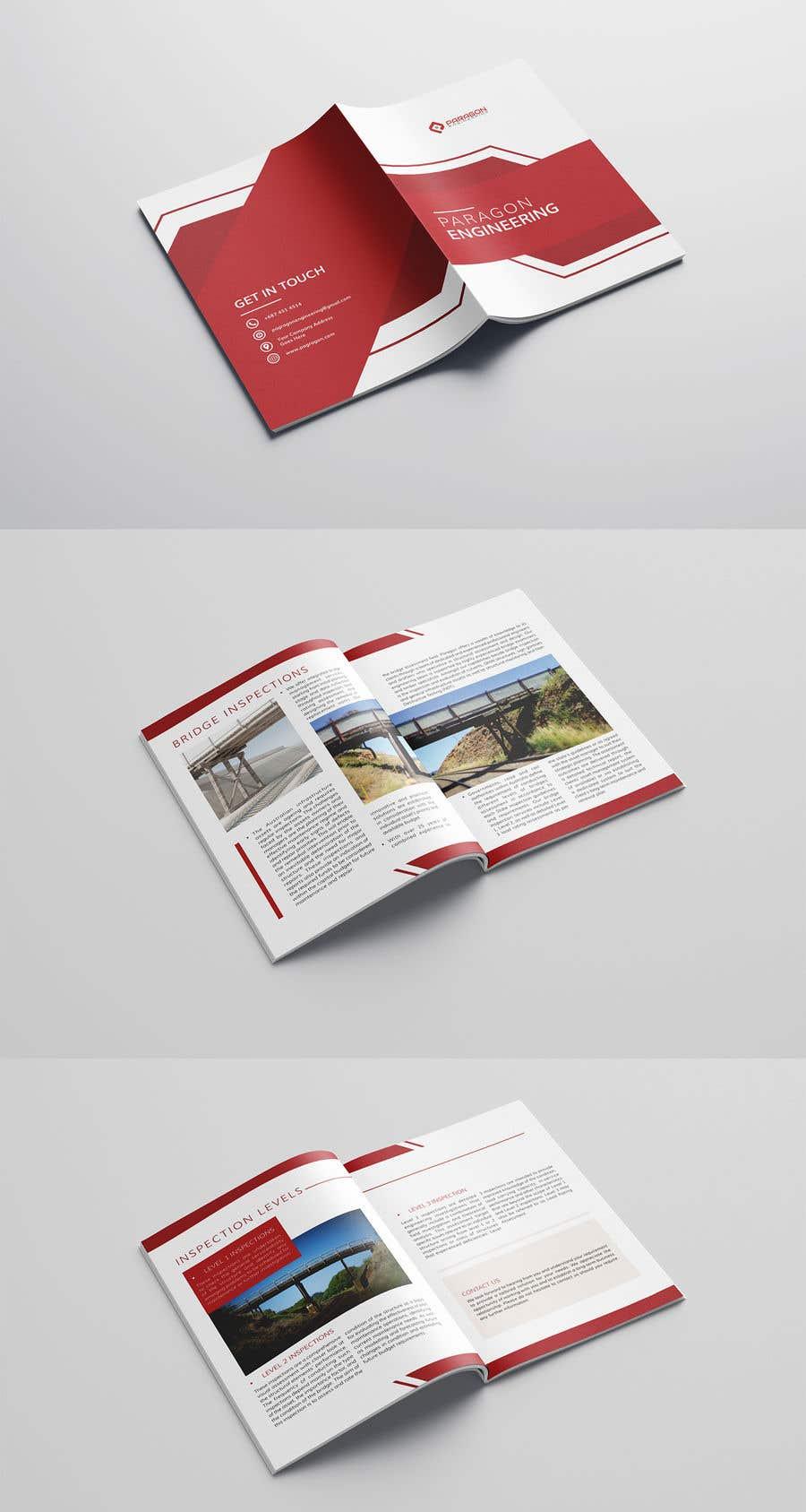 Konkurrenceindlæg #45 for Design company brochure