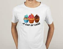 #80 for T-shirt designs for my cupcake shop! by cmtfarjana