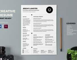 Nro 16 kilpailuun Design a CV (Resume) käyttäjältä WachidDz