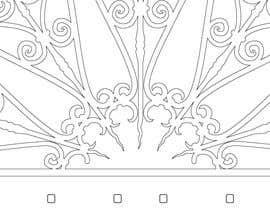 #3 for Vectorize photograph of wooden doors for laser cut invitation pocket af leonardoluna1
