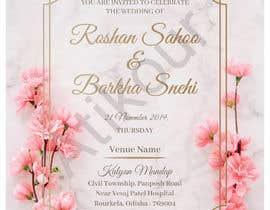 #19 untuk Required e-invite for marriage oleh atikchowdhury55