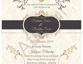 #21 untuk Required e-invite for marriage oleh atikchowdhury55