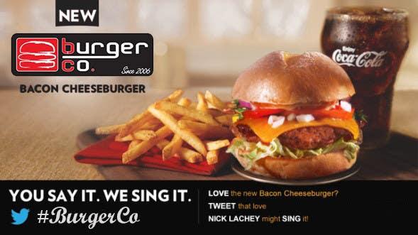 Bài tham dự cuộc thi #                                        25                                      cho                                         Design an Advertisement for a Burger Restaurant