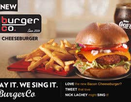 #25 cho Design an Advertisement for a Burger Restaurant bởi qaaqmohammad