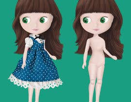#15 cho Realstic Fashion/Costume Illustration for Doll App in Japan bởi Angelilu