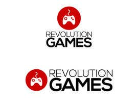 nº 13 pour Logo Design for Revolution Games par lopezflorian