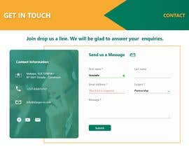 #16 for UI/UX Designer - Contact form by yosiiaa