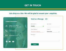 #18 for UI/UX Designer - Contact form by yosiiaa