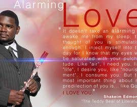 "#18 untuk Flyer Design for (Author) Skakeim Edmonds, ""Alarming Love"" oleh appleheart"