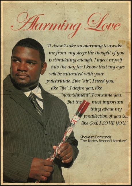 "#9 for Flyer Design for (Author) Skakeim Edmonds, ""Alarming Love"" by kemmouni"