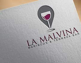 #48 for design me a logo with the name, la malvina mariscos & terraza bar by tahminaakther512
