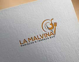 #53 for design me a logo with the name, la malvina mariscos & terraza bar by khinoorbagom545