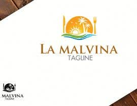 #37 for design me a logo with the name, la malvina mariscos & terraza bar by Zattoat