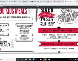 #10 for Kids Meal Menu & Same design For Reg. Web page & same for Post for Social media af nrifat6