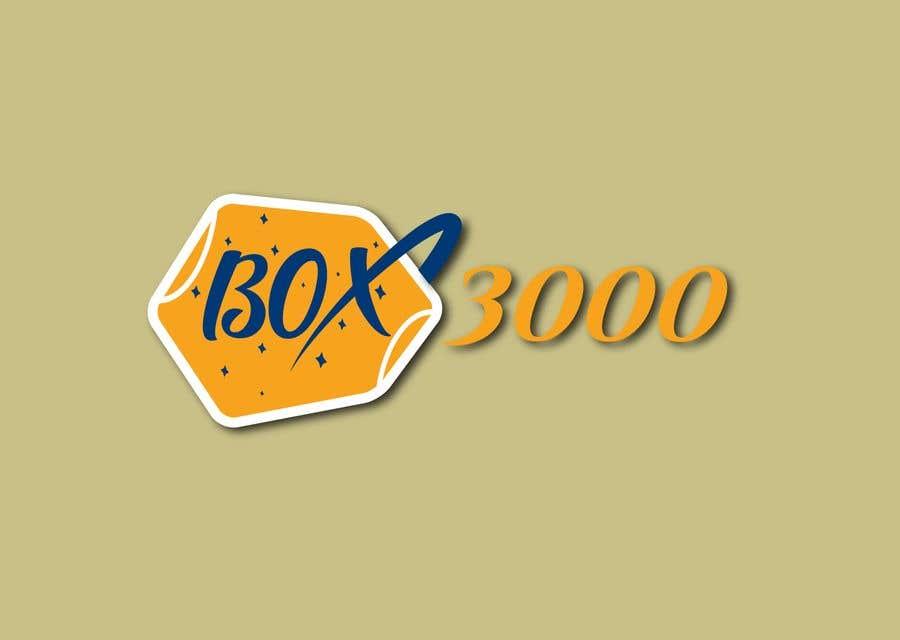 Konkurrenceindlæg #10 for BOX 3000 logo design