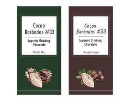 #46 for drinking chocolate label af fizar2012