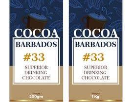 #35 for drinking chocolate label af aatir2