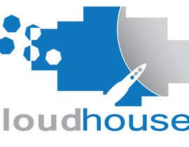 #70 untuk Logo Design for 'Cloud House' oleh Mirtala