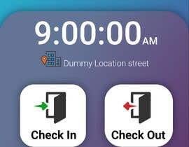 #8 para UI design for mobile app (location-based check-in) por mursman