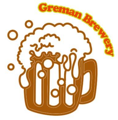 Inscrição nº                                         15                                      do Concurso para                                         Logo for a German Brewery