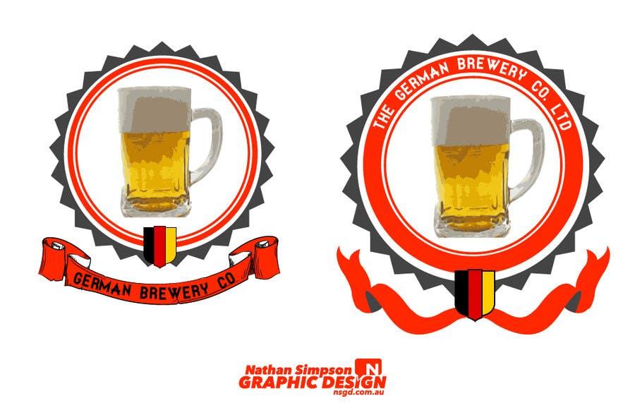 Bài tham dự cuộc thi #                                        20                                      cho                                         Logo for a German Brewery