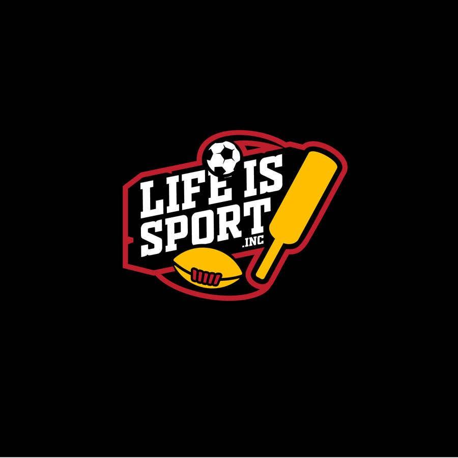Penyertaan Peraduan #64 untuk Life is a Sport Inc