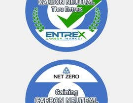 #2 para A logo/stamp/icon  for Carbon Neutral companies por Sico66