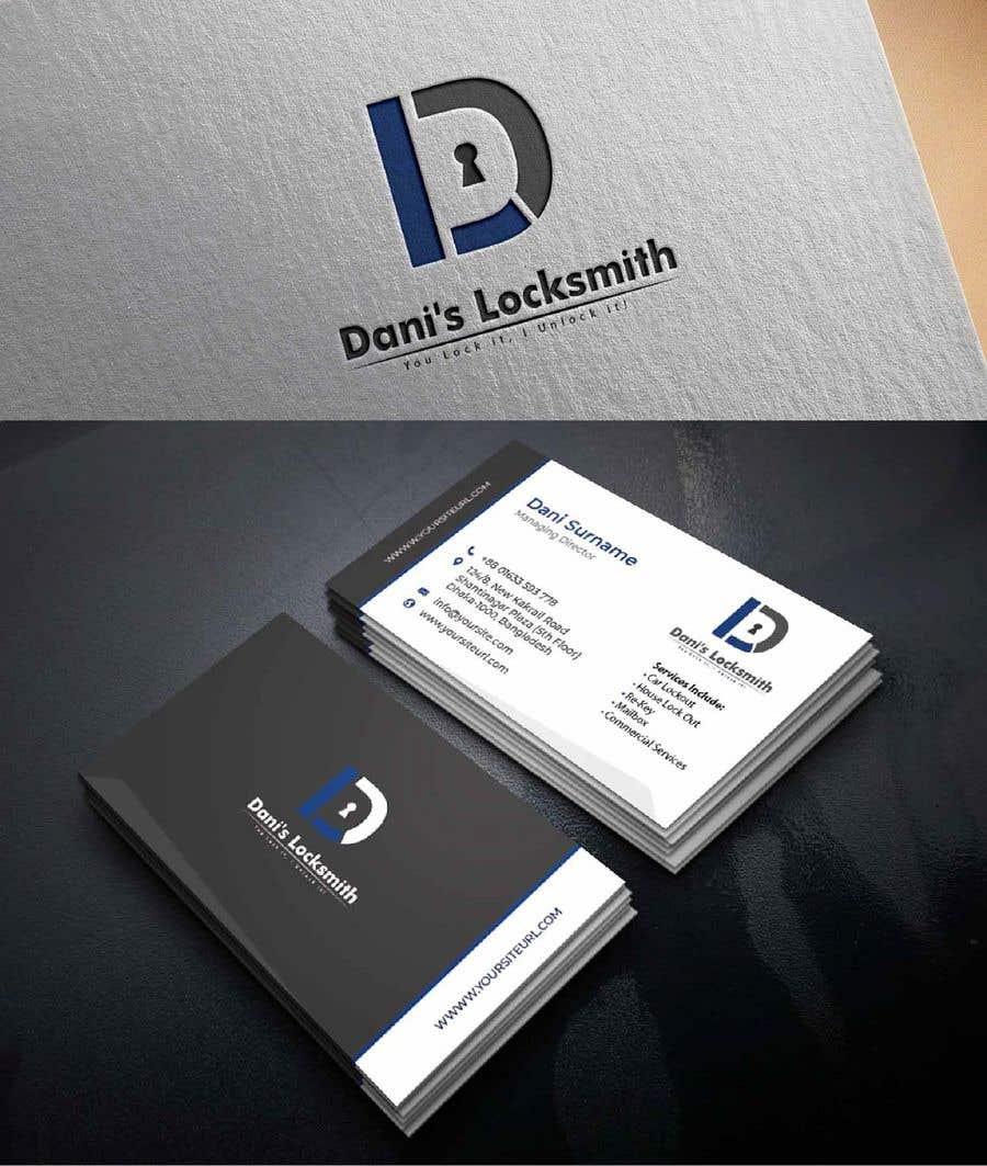 Inscrição nº 101 do Concurso para Logo & Business Card for a Locksmtih