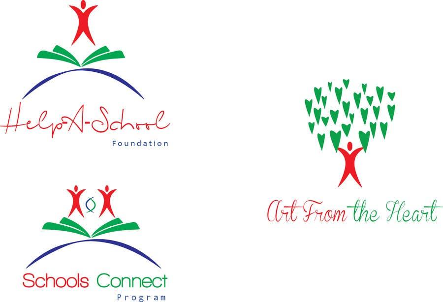 Konkurrenceindlæg #                                        17                                      for                                         Design 3 Logos for Help-A-School Foundation