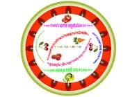 Graphic Design Inscrição do Concurso Nº16 para Graphic Design for china plate (front & back)
