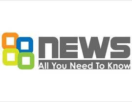 #6 for Logo + Header Backgroun Design for 88news by iakabir