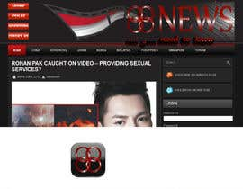 #25 untuk Logo + Header Backgroun Design for 88news oleh nicoscr