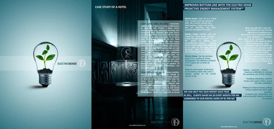 Конкурсная заявка №                                        70                                      для                                         Brochure Design for Electro Sense