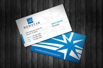 Graphic Design Entri Peraduan #10 for Business Card Design for New Star Environmental